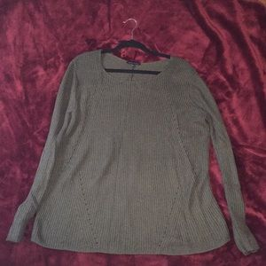 Army Green pull-over sweater